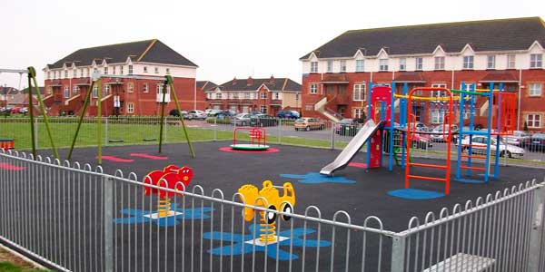 Swords completed playground by Browne Brothers
