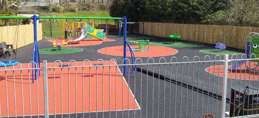 playground surfaces in Ireland