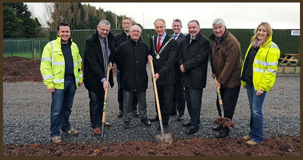 Pictured at the official opening of the Regional Park Allotment Scheme, Ballincollig were, from left to right: Vincent Florish, Recreation & Amenity Services, Divisional Services South, Cork County Council; Tom Butler, chairperson Ballincollig Tidy Towns; Gary Whyte, PRO Ballincollig Community Forum; Maurice Manning, director of services Divisional Services South, Cork County Council; Mayor of County Cork, Cllr Noel O'Connor; Daithí Ó Donnabháin, director SECAD; Ryan Howard, CEO SECAD; Cllr Derry Canty, and Noelle Desmond, Recreation & Amenity Services, Divisional Services South, Cork County Council.
