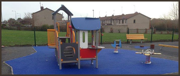 Completed playground in Dublin