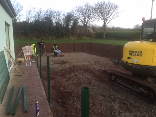 Farran National School Siteworks01