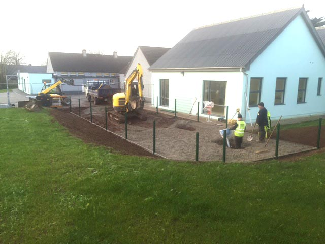 Farran National School Siteworks - Browane Brothers