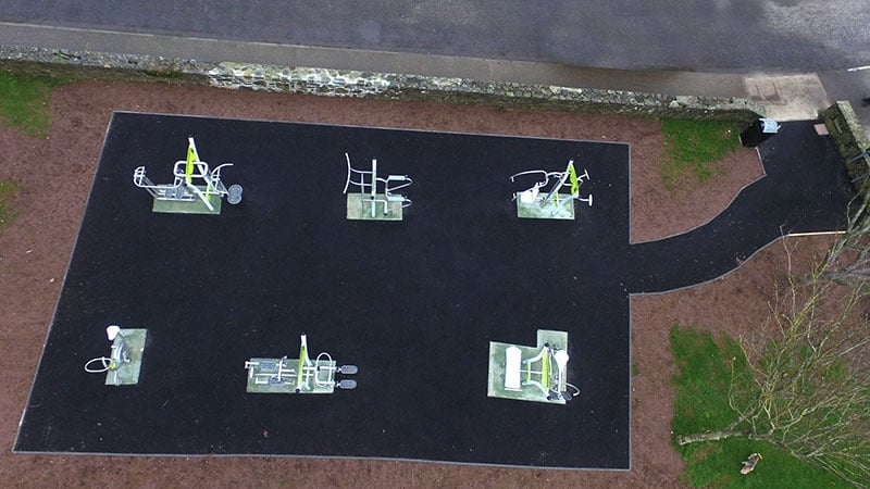Outdoor Gym, Kinsale by Browne Brothers Playgrounds
