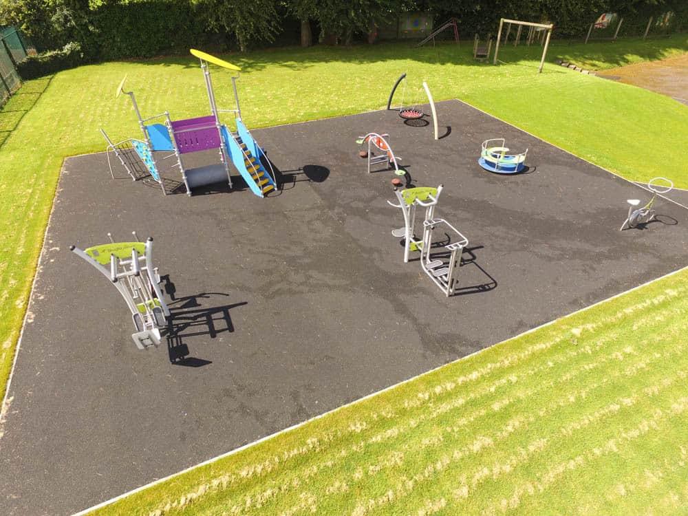Best playground equipment suppliers browne brothers for Cork playground flooring