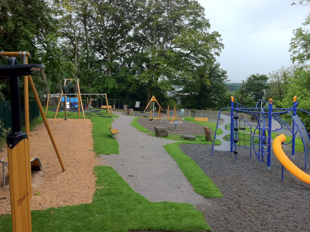 Completed Edenderry playground