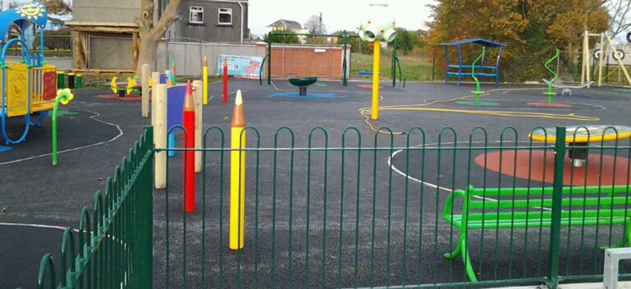 Playgrounds project in Gort