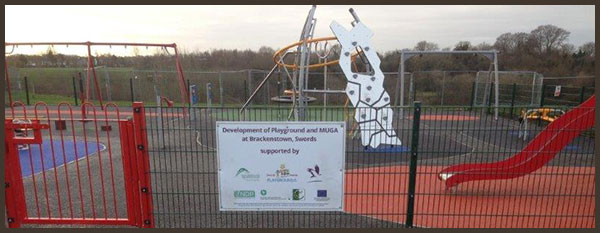 Development of new playground in Dublin