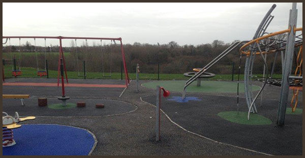 new playground completed