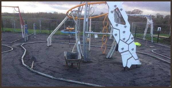 The playground layout