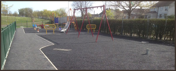 New playground completed at Edenmore County Dublin